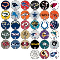 NFL TEAM LOGO JFK Half Dollar USA Football Coins OFFICIALLY