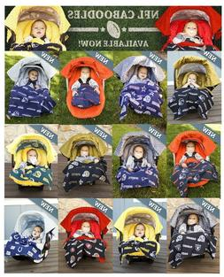 NFL Whole Caboodle 5pc CarSeat Canopy for Baby car seat Lice