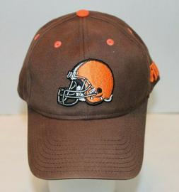 NWOT NFL Cleveland Browns Football Brown Baseball Hat Orange