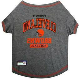 NWT Pets First Cleveland Browns Pet T-Shirt X-Small Free Shi