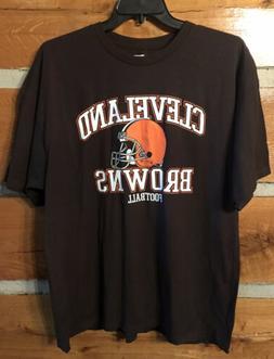 NWT CLEVELAND BROWNS T-shirt - 2XL - NFL team apparel