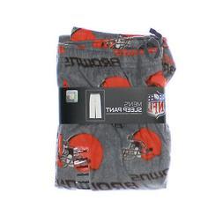 NWT - NFL TEAM APPAREL Men's 'CLEVELAND BROWNS' Grey/Orange/