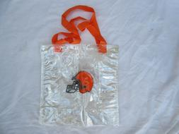 OFFICIAL NFL CLEVELAND BROWNS CLEAR STADIUM APPROVED TOTE BA