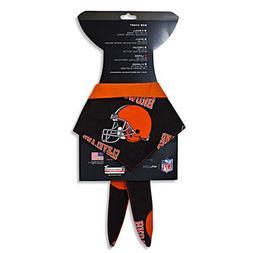 In Dog We Trust - Pet Bandana - Cleveland Browns - size Larg