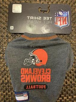 Pet Cleveland Browns Football  dog t-shirt size XS New