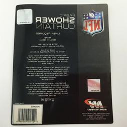 "RARE ~ CHOOSE YOUR TEAM ~ NFL SHOWER CURTAIN NORTHWEST 72"" x"