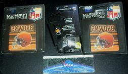 Rare lot of 3 NFL Cleveland Browns football Smartphone iphon
