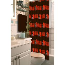 NFL Shower Curtain, Browns
