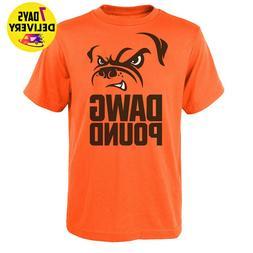 Cleveland Browns Dawg Pound T Shirt Orange Size S-3XL