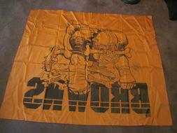Vintage 1988 Cleveland Browns Dog Pound Nikry Wall Hanging B