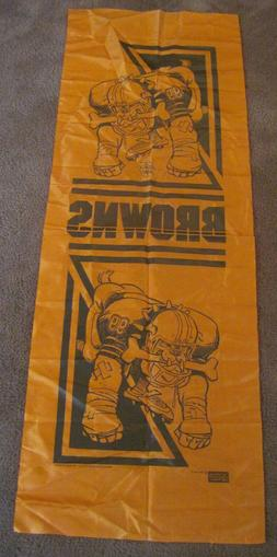 Vintage 1988 Cleveland Browns Nikry Wall Hanging Banner 16 X
