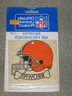 Vintage NFL Cleveland Browns Air Freshener Sold as Collectib