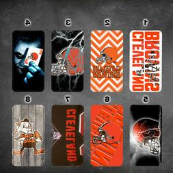 wallet case cleveland browns galaxy note 9 note 3 4 5 8 J3 J
