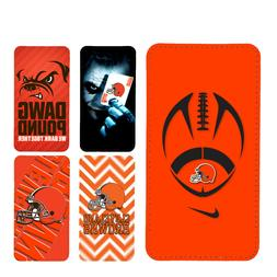wallet case cleveland browns iphone 7 iphone 6 6+ 5 7 X XR X